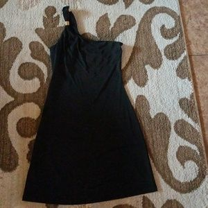 Black cocktail dress (XS)